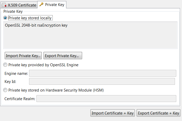 Manage X509 Certificates And Keys
