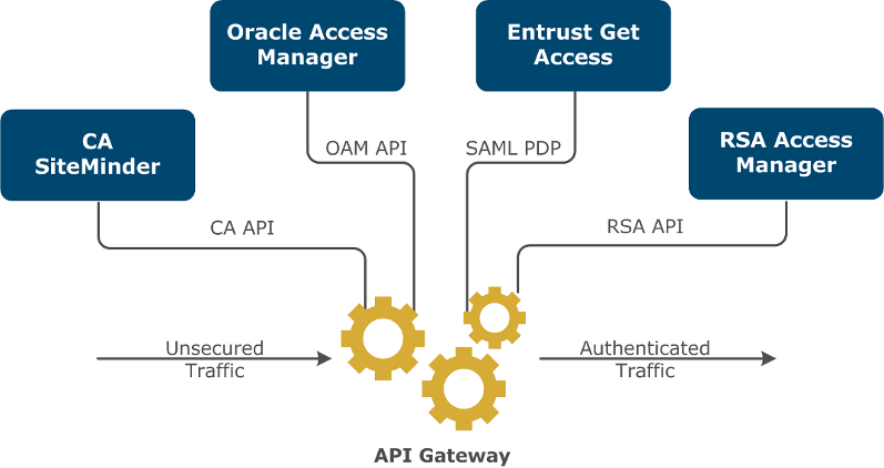 Example access control options