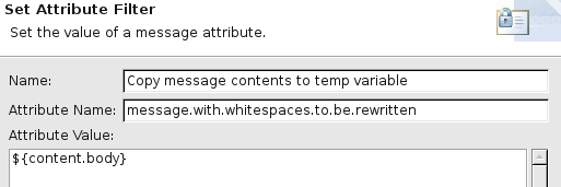 Example Set Attribute filter