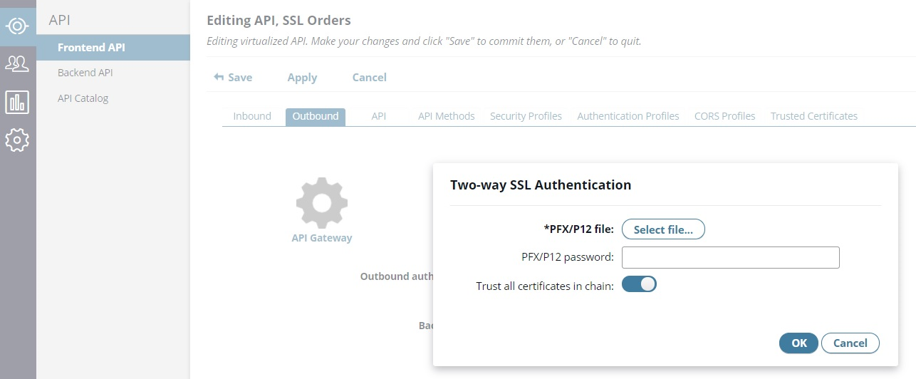 Configure SSL Authentication in API Manager