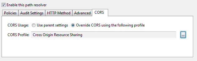 Cross-Origin Resource Sharing (CORS) for Relative Paths