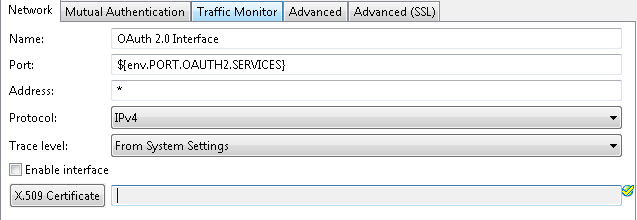 Example HTTPS Interface