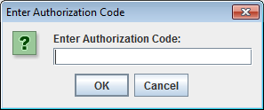 Entering OAuth 2.0 Authorization Code